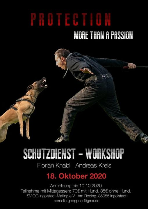 Schutzdienst-Workshop